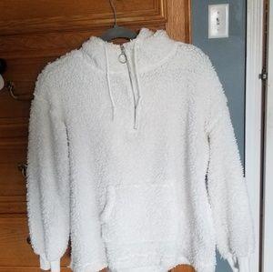White Teddy hoodie